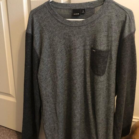 Hurley Other - Like-new Hurley Long sleeve grey sweater